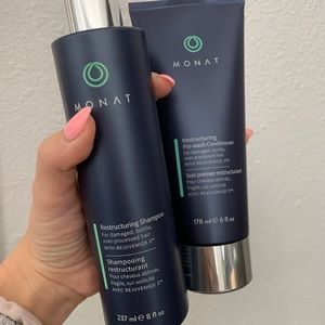 NEW Monat ReStructuring Shampoo & Conditioner